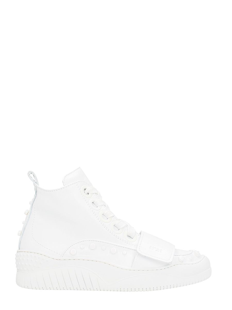 N.21 Mid Stretch Stud Sneakers