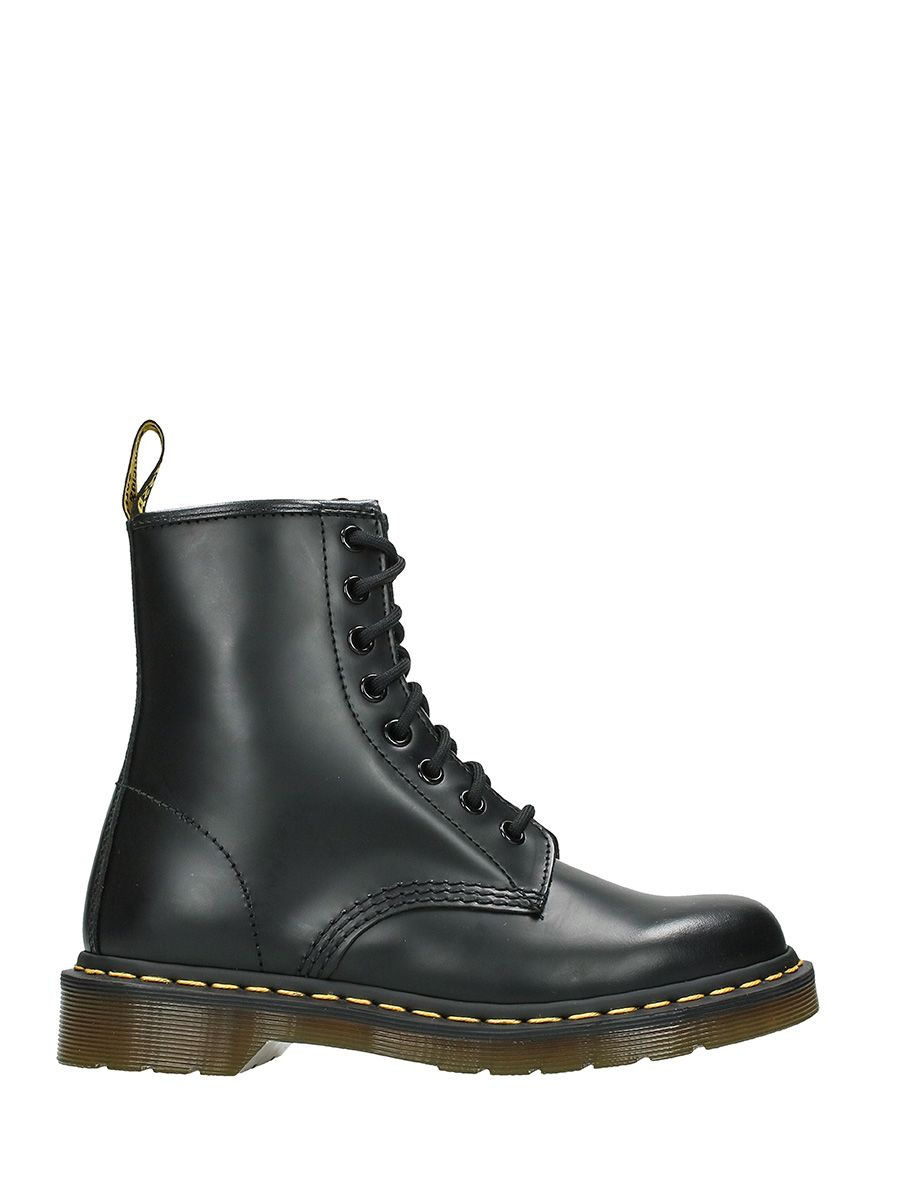 Dr. Martens Black Leather Combat Boots