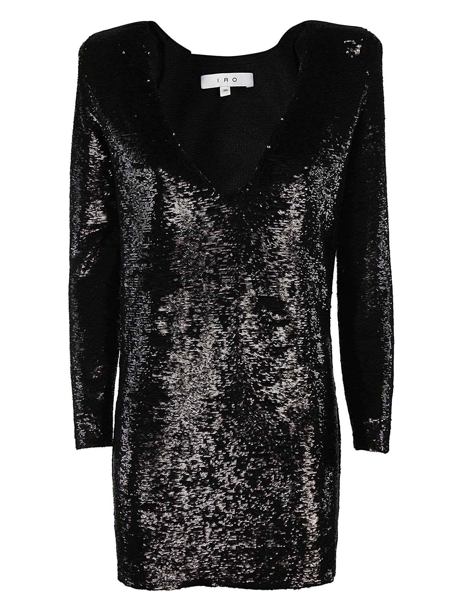 IRO Sequin Embellished Dress