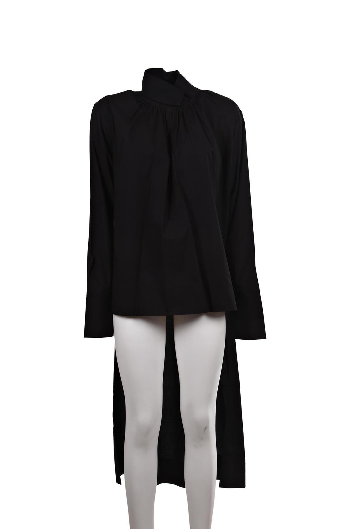 Celine Asymmetrical Long Top
