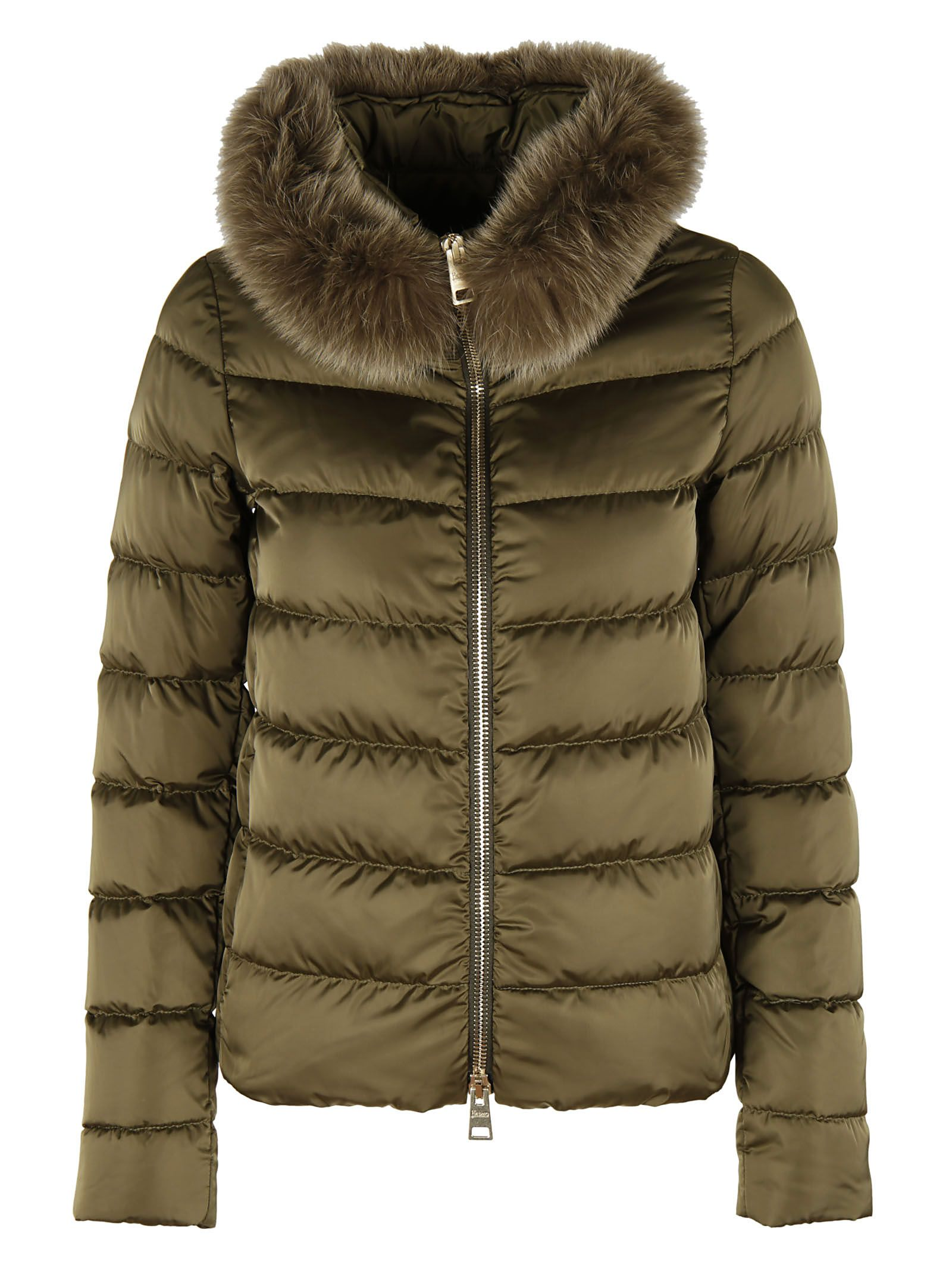 Herno Fur Trim Down Jacket