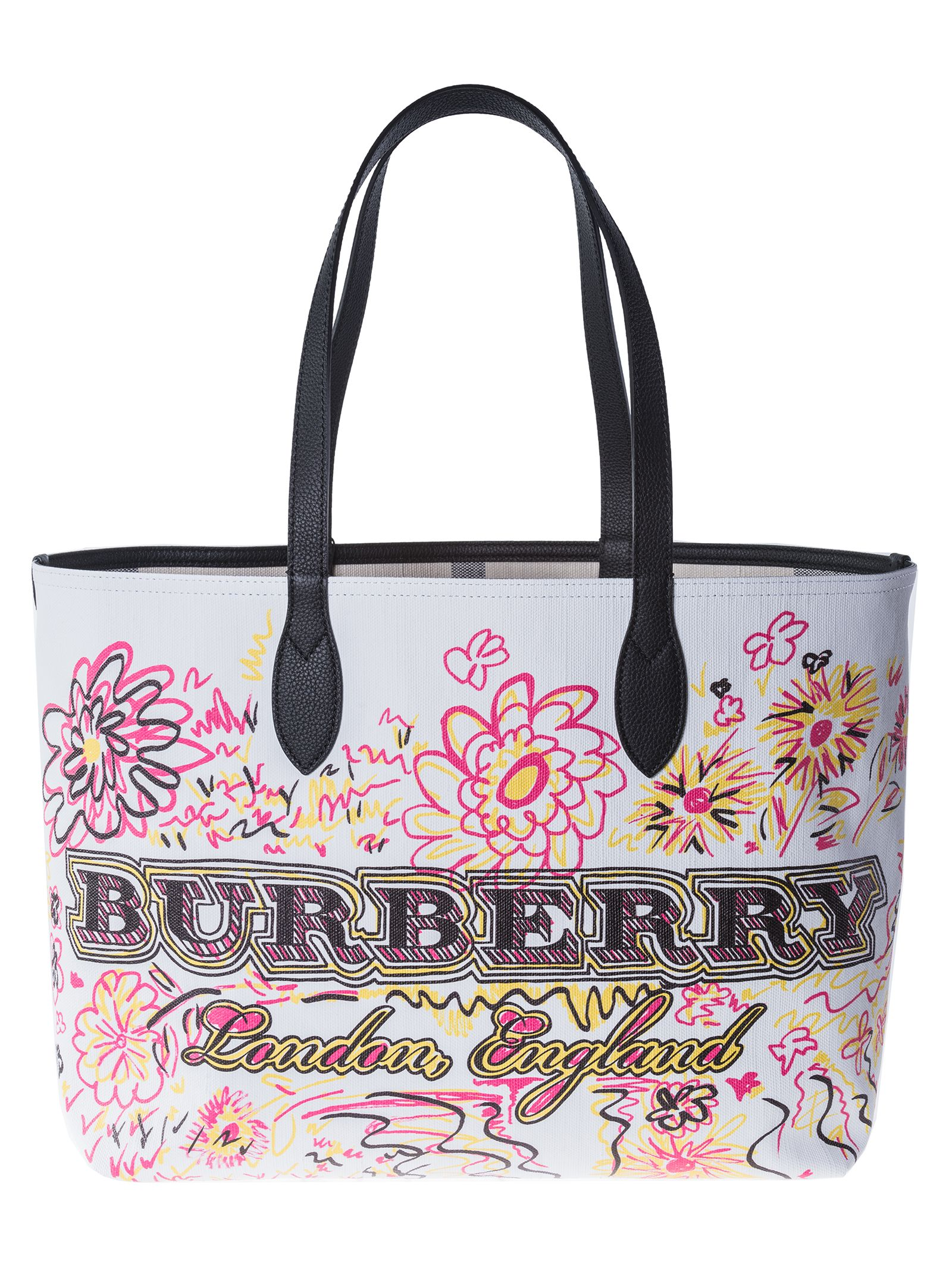 Burberry Large Doodle Tote