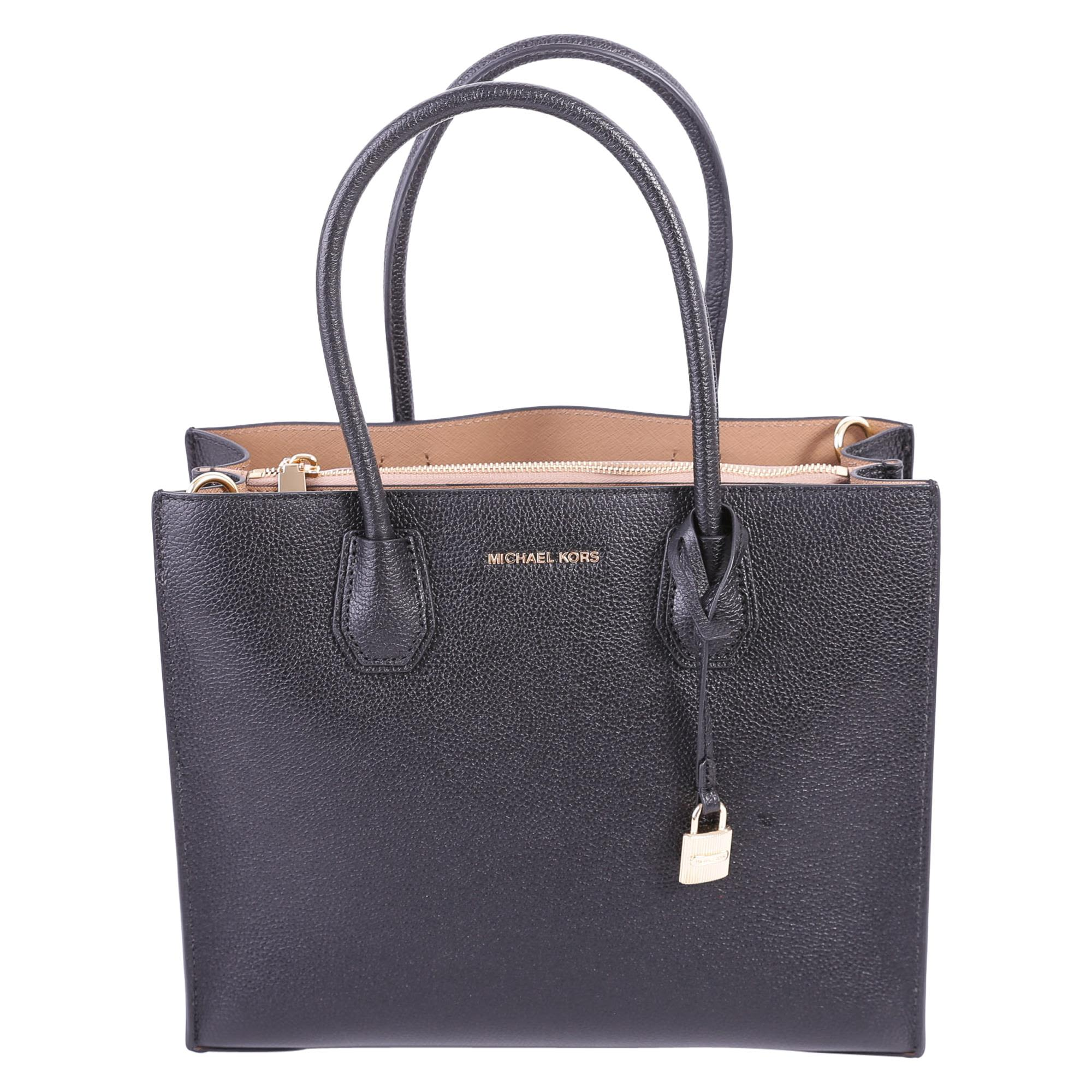 MICHAEL Michael Kors Mercer Large Tote Tumbled Leather Bag