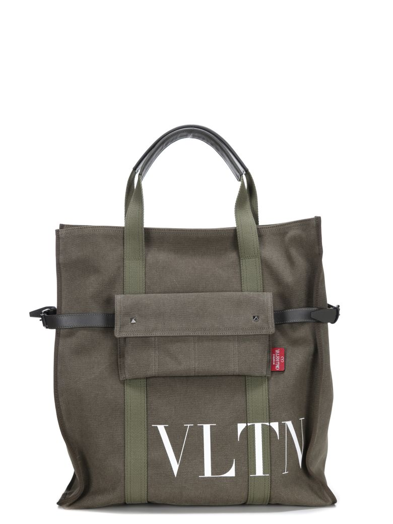 VLTN tote bag - Green Valentino