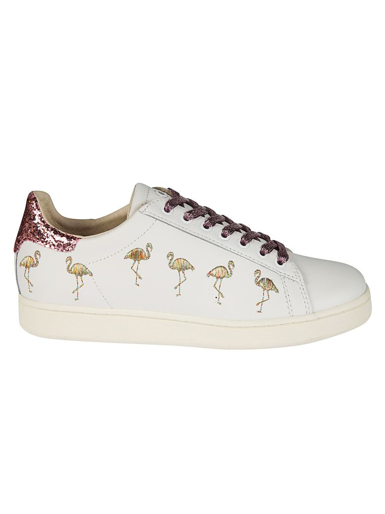 M.O.A. MASTER OF ARTS MOA FLAMINGO GLITTER SNEAKERS