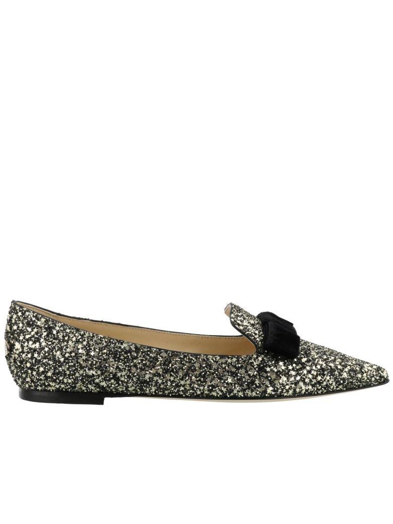 Gala Glittery Slippers, Gold