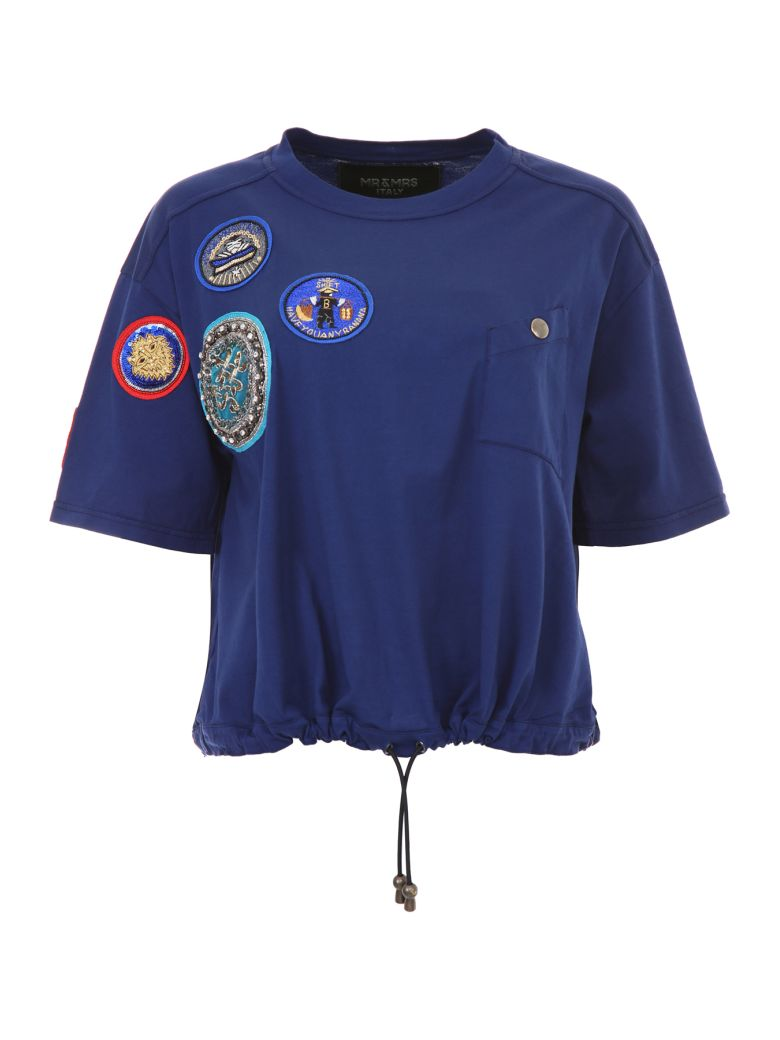 T-SHIRT WITH PATCHES