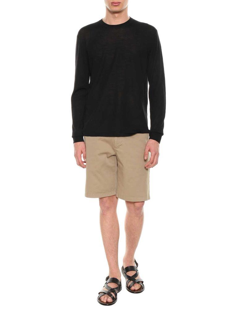 ACNE STUDIOS Ribbed Sweater Black