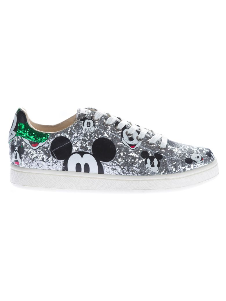 M.O.A. MASTER OF ARTS MOA MICKEY GLITTER SNEAKERS
