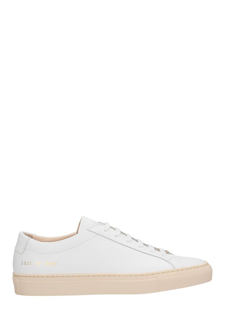 ORIGINAL ACHILLES LOW WHITE LEATHER SNEAKERS