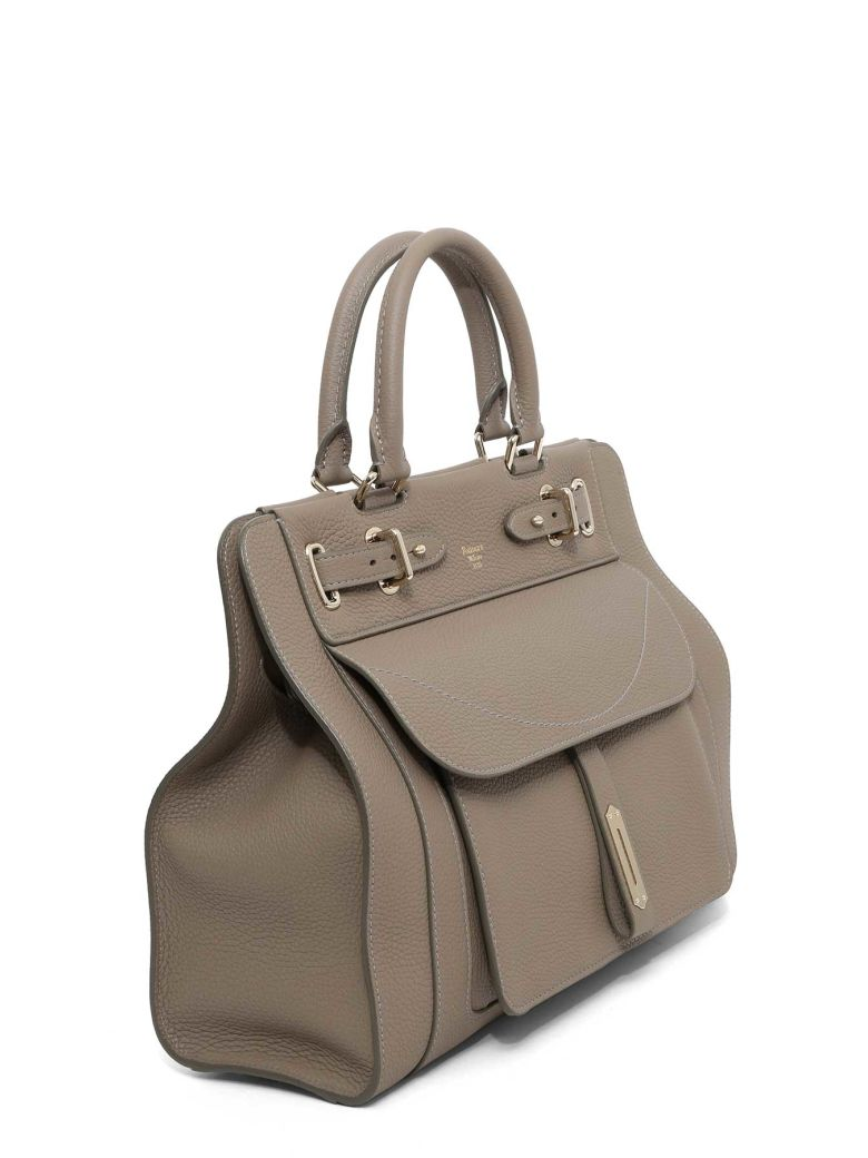 fontana couture 'a' small togo handbag