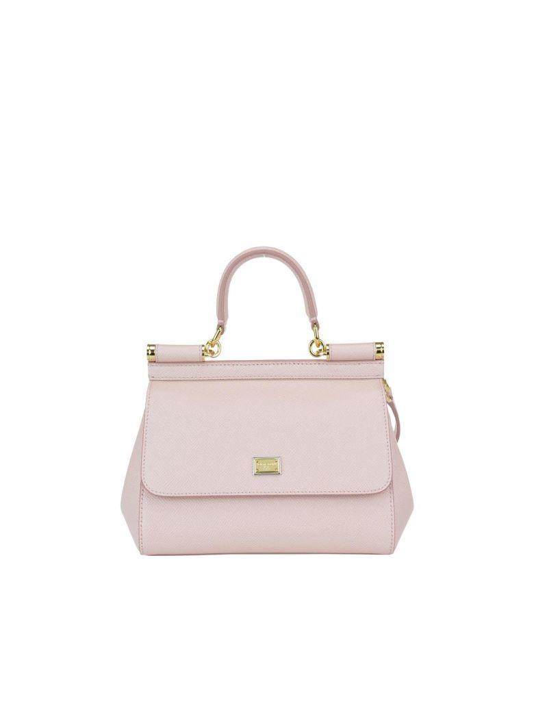 a926954f81 Dolce   Gabbana Small Sicily Bag In Rosa Carne 2