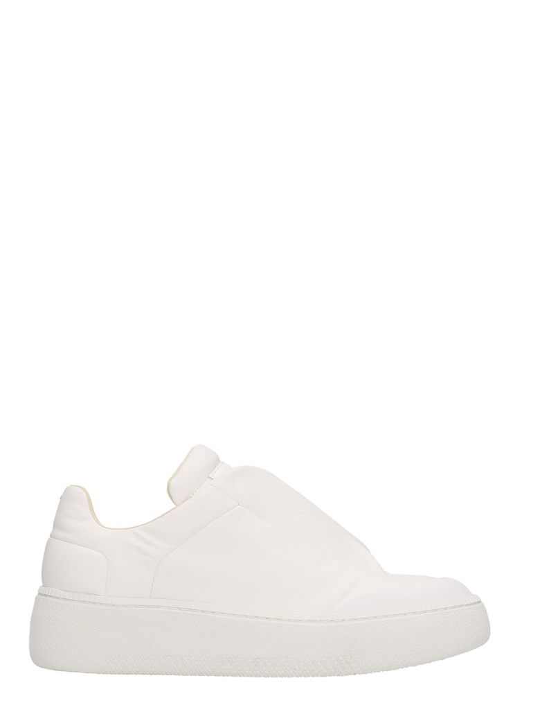 WHITE LEATHER FUTURE SNEAKERS