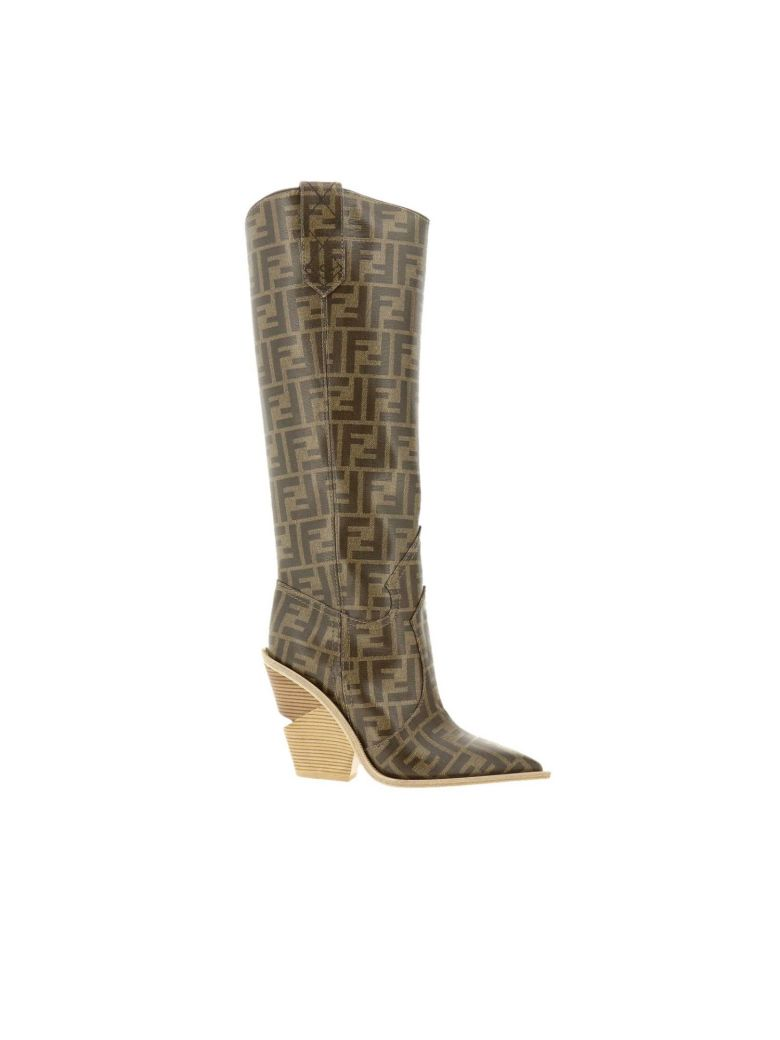 Fendi Boots Shoes Women Fendi - tobacco