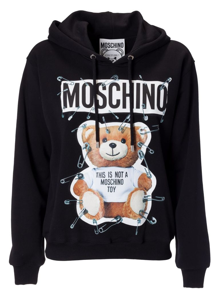 Moschino Cottons BEAR & CLIP HOODIE