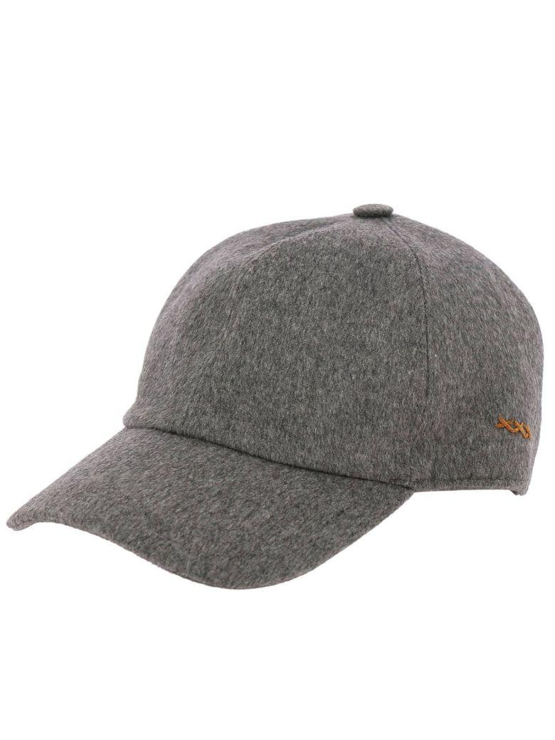 Hat Hat Women Ermenegildo Zegna, Grey