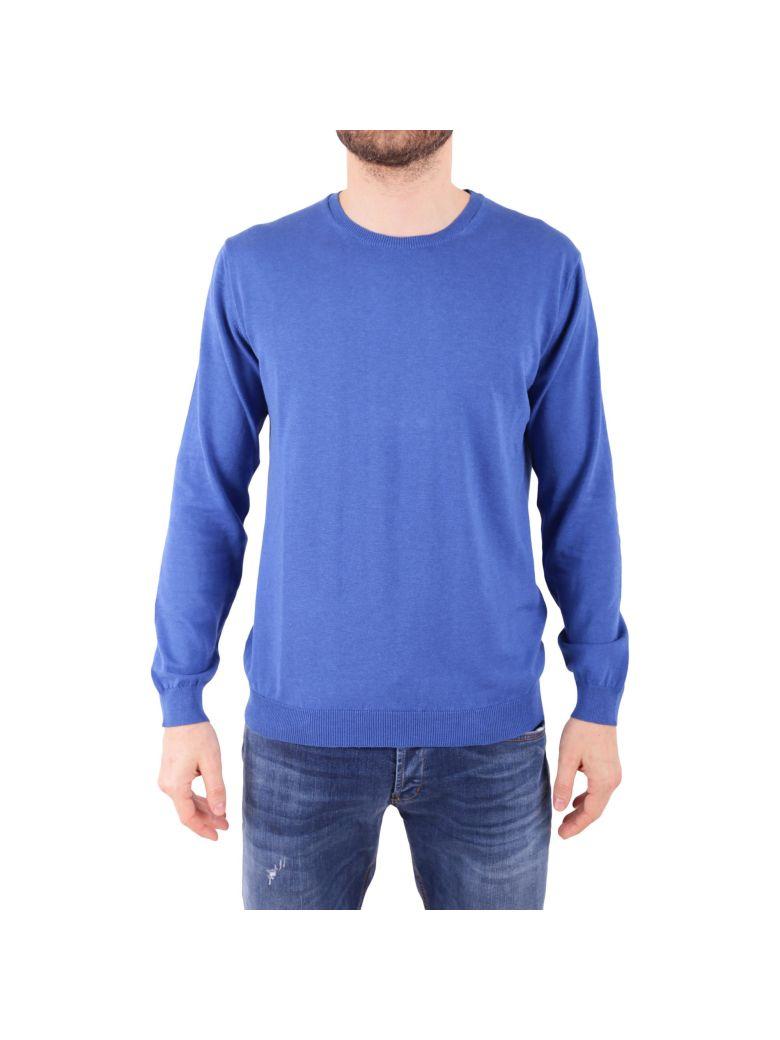 DANIELE FIESOLI Cotton Sweater in Bluette