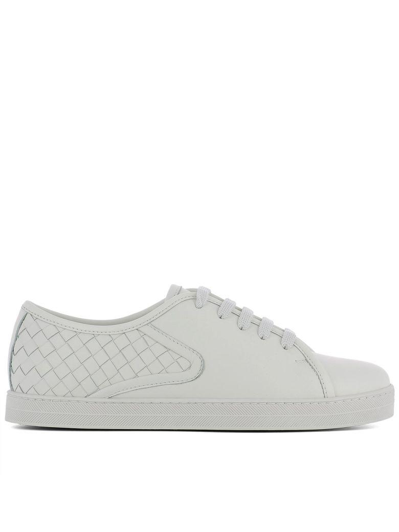 Bottega Veneta Sneaker Caramel Nappa Tissé Blanc - Blanc i3WMGRuh0Z