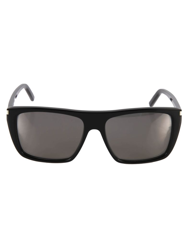 Saint Laurent  SQUARE-FRAMED TINTED SUNGLASSES