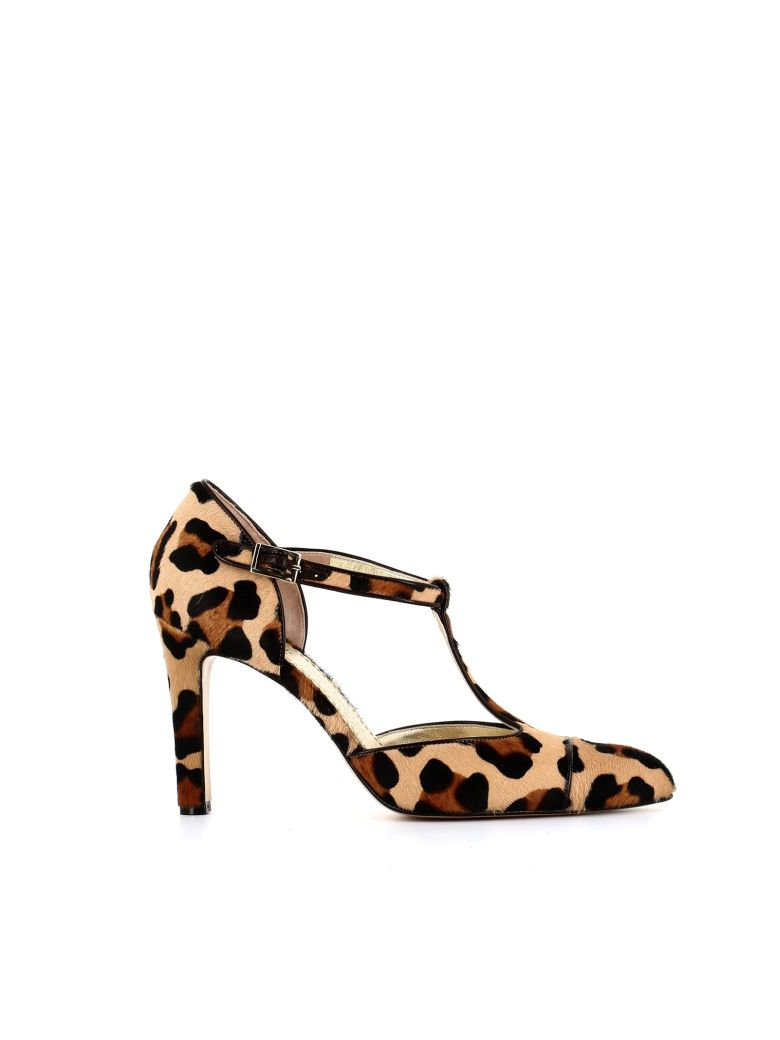 ANTONIO BARBATO Leopard Print Pumps  in Neutrals