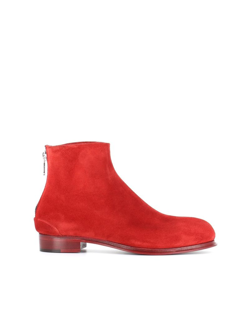 """Ankle Boot """"3640Bb1"""", Red"""