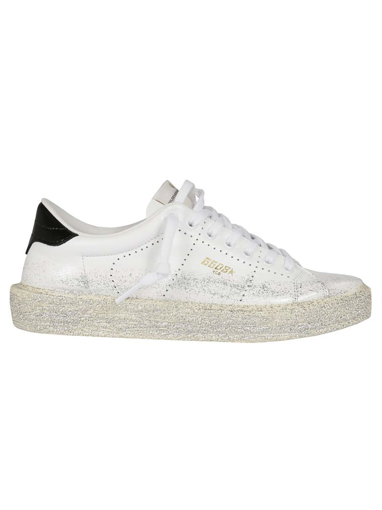 Glitter Brushed Superstar Sneakers