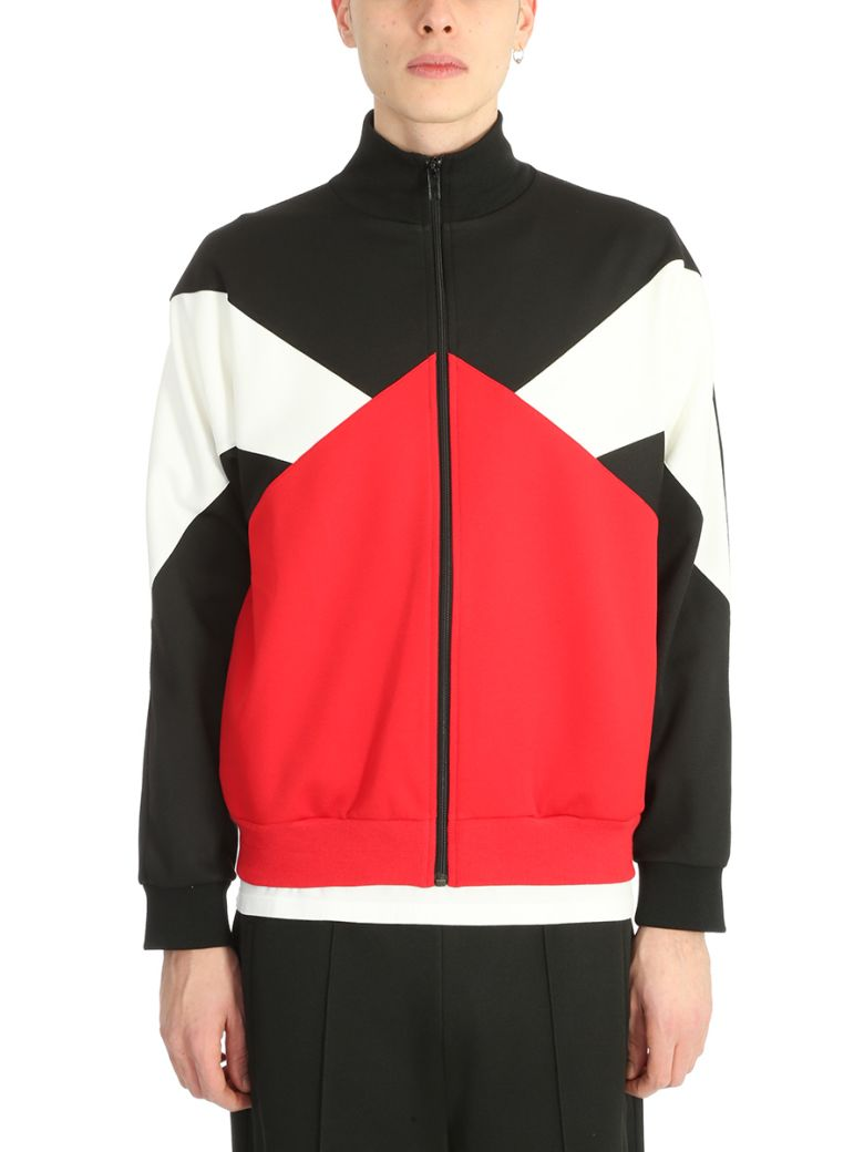 Maison Margiela Cottons RED/BLACK/WHITE COTTON SWEATSHIRT