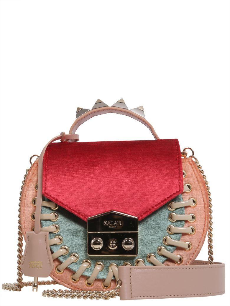 """""""Claire Pocket"""" Crossbody Bag, Multicolor"""