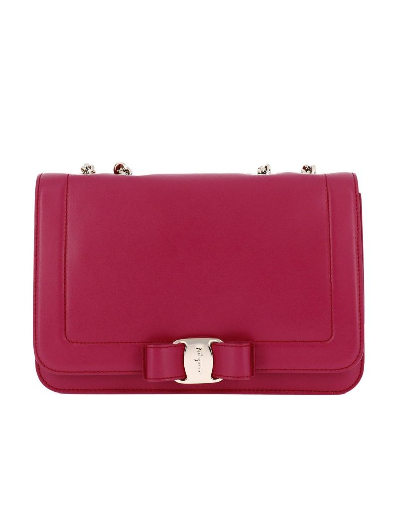 85e6e309a2b7 Salvatore Ferragamo Crossbody Bags Shoulder Bag Women In Fuchsia