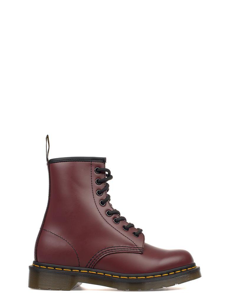 dr martens bordeaux brushed leather low boot red modesens. Black Bedroom Furniture Sets. Home Design Ideas