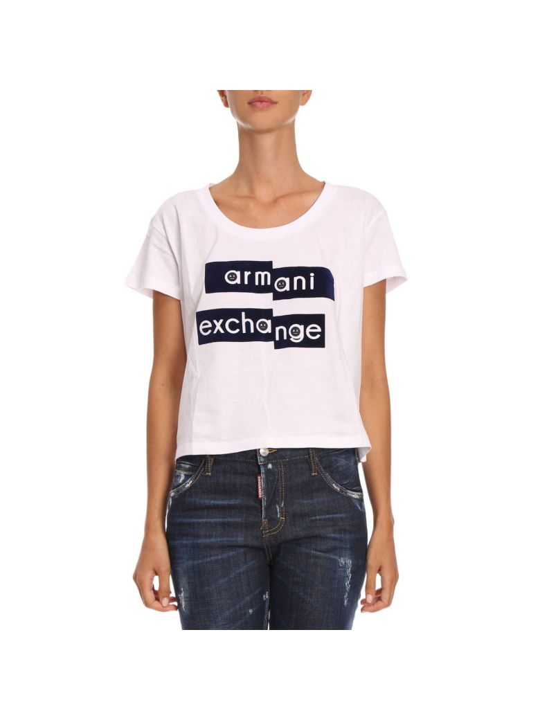 ARMANI COLLEZIONI T-SHIRT T-SHIRT WOMEN ARMANI EXCHANGE