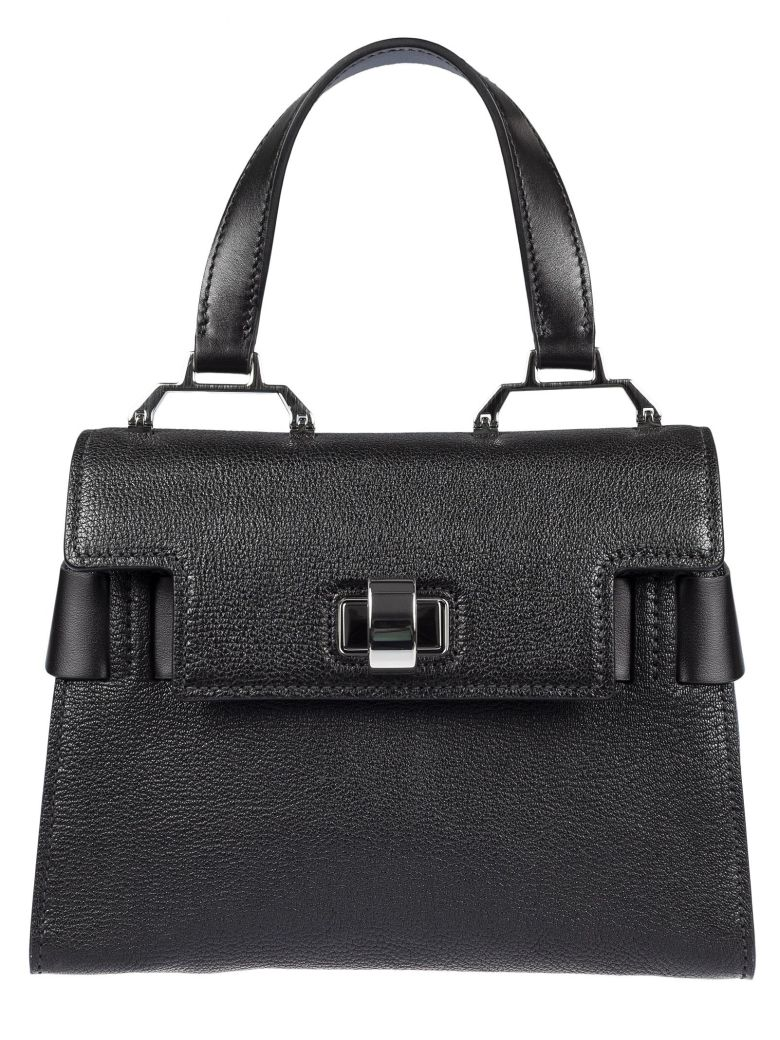 MADRAS LEATHER TOTE