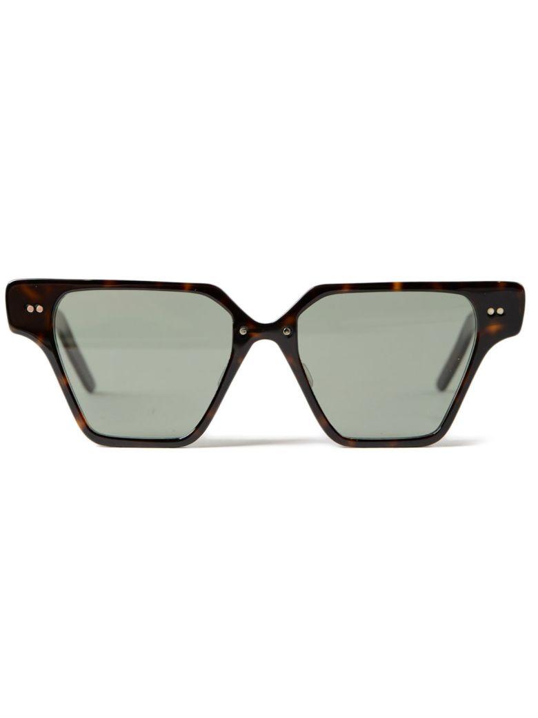 DELIRIOUS Square Frame Sunglasses in Midnight