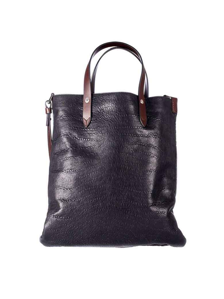 golden goose flat shopper bag