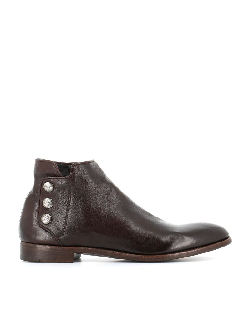 "ALBERTO FASCIANI Ankle Boots ""Pascal 36067"" in Brown"