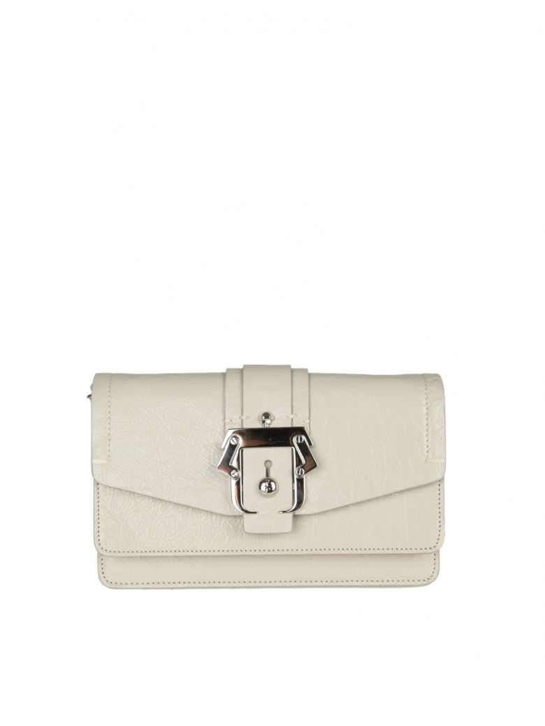 LOU LOU SHOULDER IN GRAY COLOR LEATHER
