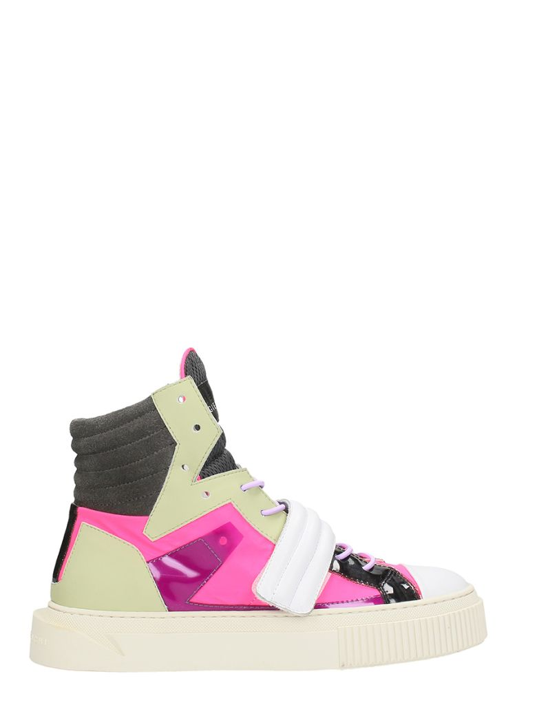 Gienchi HYPNOS MULTICOLOR FABRIC SNEAKERS