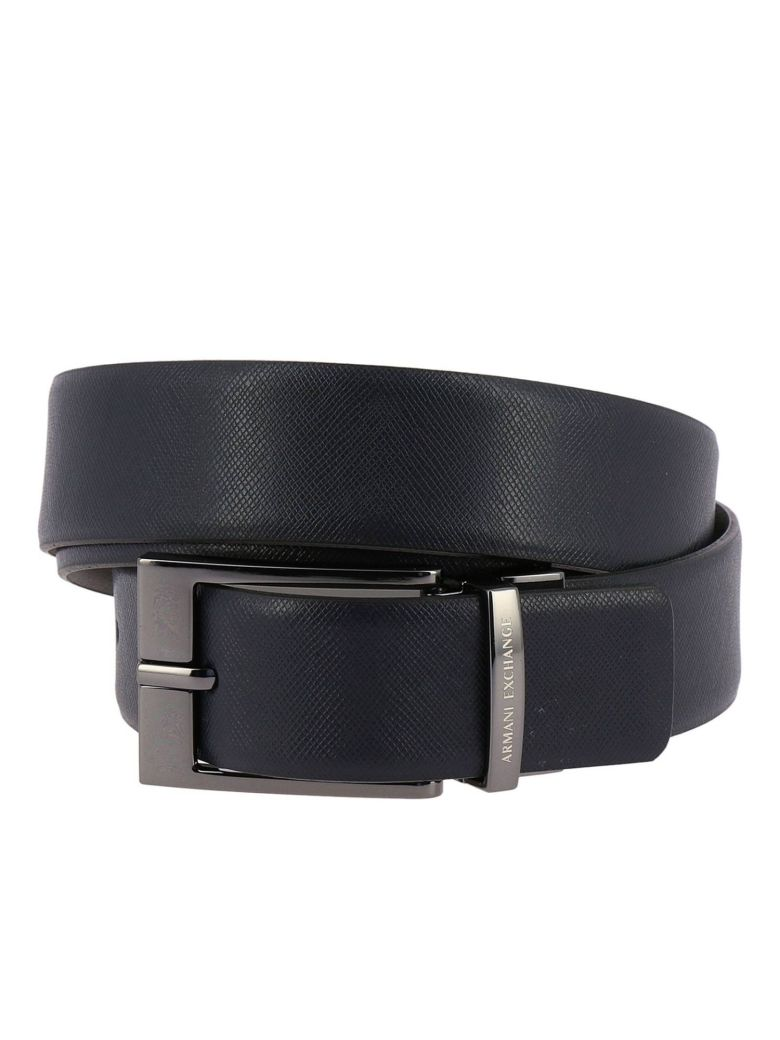 Armani Collezioni Belt Belt Men Armani Exchange - navy - 10655077 | italist