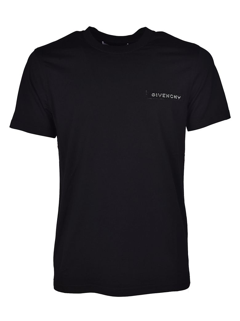 Givenchy Cottons LOGO PATCH T-SHIRT