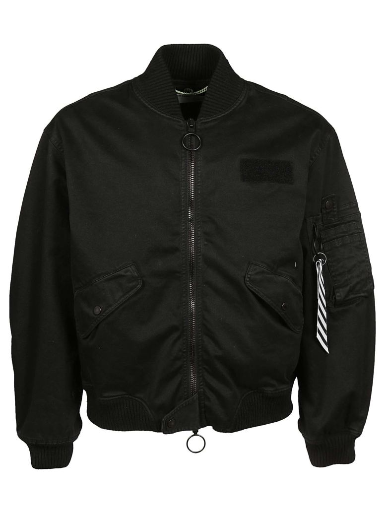 COTTON BOMBER JACKET