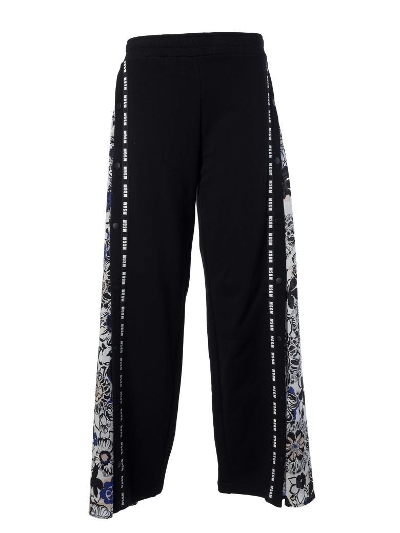 BRAND STRIPE TRACKSUIT TROUSERS