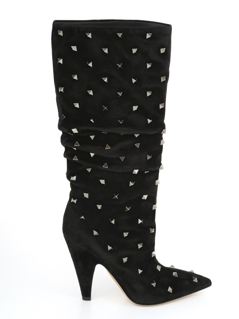 STUDDED 105 BOOTS