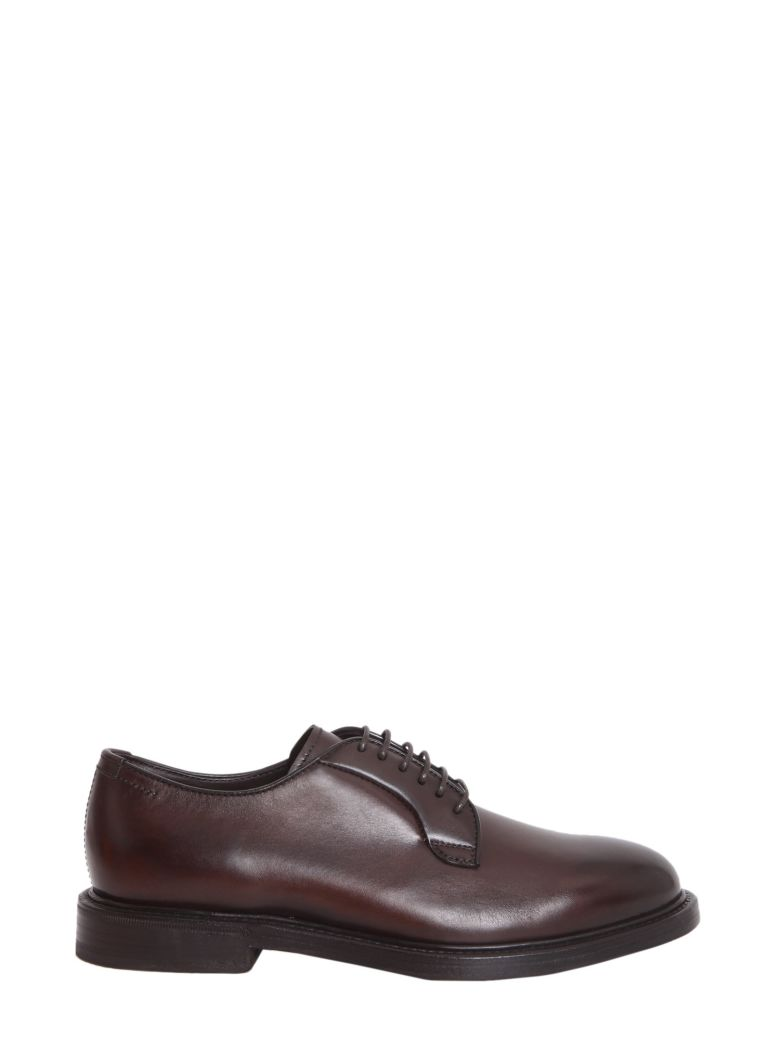 HENDERSON LEATHER DERBY SHOES