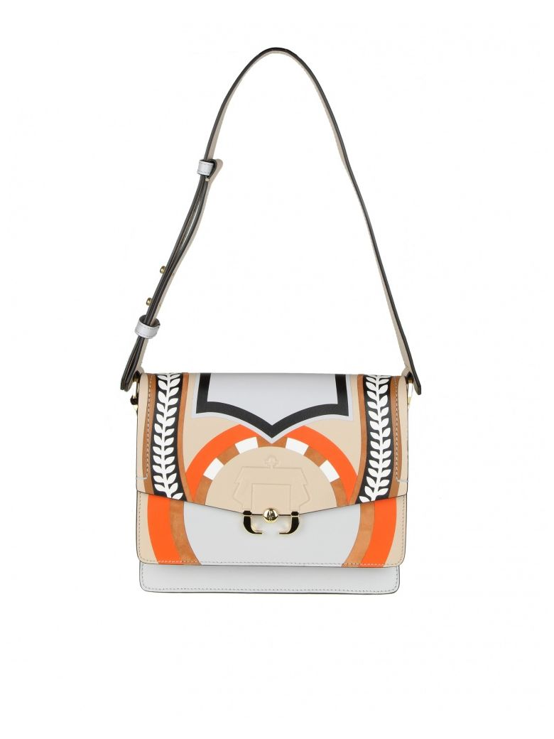 Paula Cademartori TWIGGY SHOULDER BAG IN LEATHER
