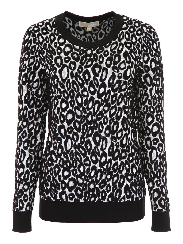 LEOPARD-PRINTED PULL