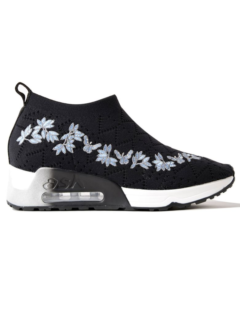 Ash  FLORAL SLIP ON SNEAKERS
