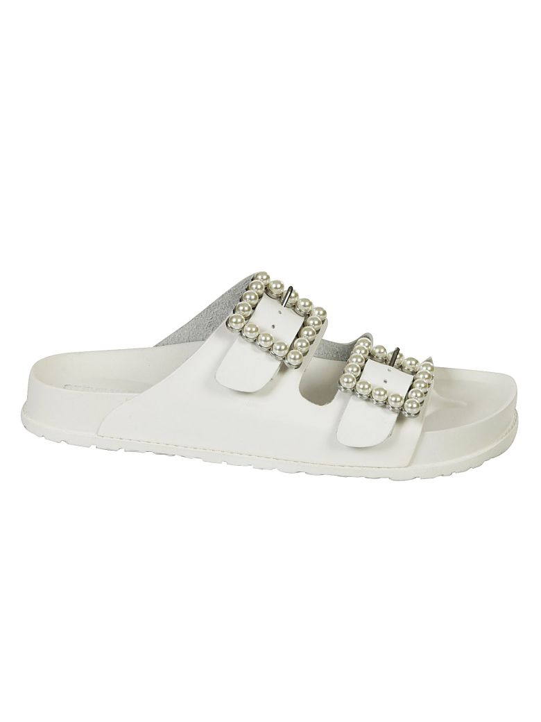 BUBBLES BEADED SLIDERS