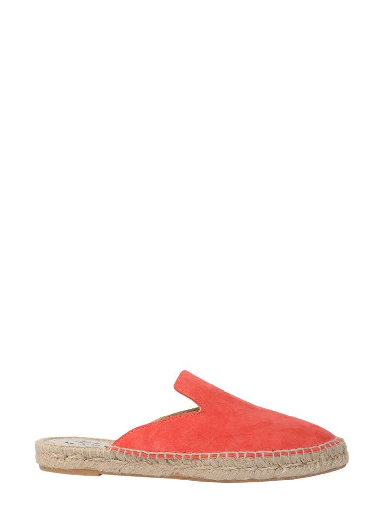 MANEBI Hamptons Slippers in Pink