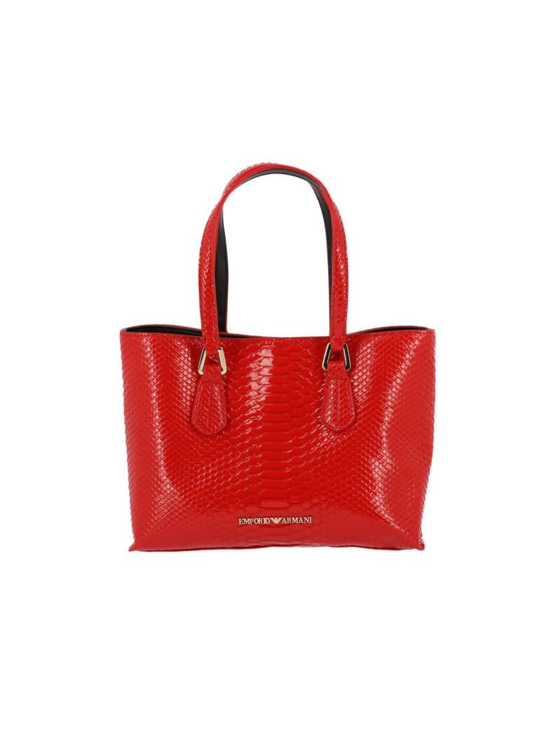 0bf785bde864 Emporio Armani Shoulder Bag Shoulder Bag Women In Coral ...