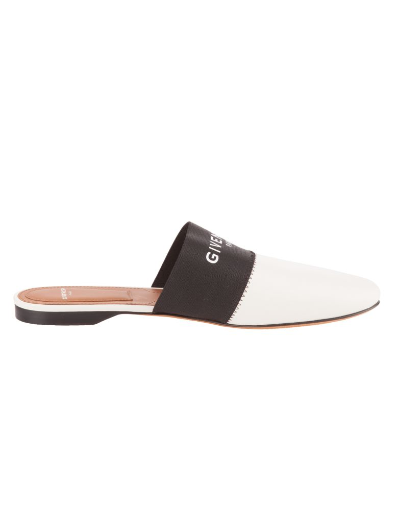 Givenchy Bedford elastic band slippers - Nero
